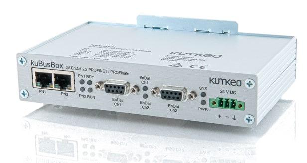 Protokollkonverter kuBusBox EnDat-2_2-PROFINET_PROFISafe